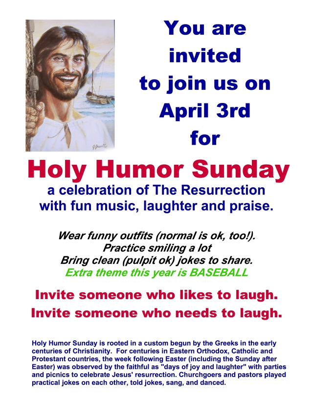 Holy Humor Poster 16